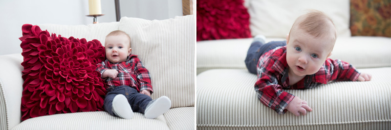 03-in-home-sinter-baby-session-red-plaid-melanie-mahonen-photography