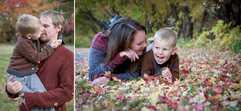 04-fall-family-session-color-leaves-mother-father-son-melanie-mahonen-photography