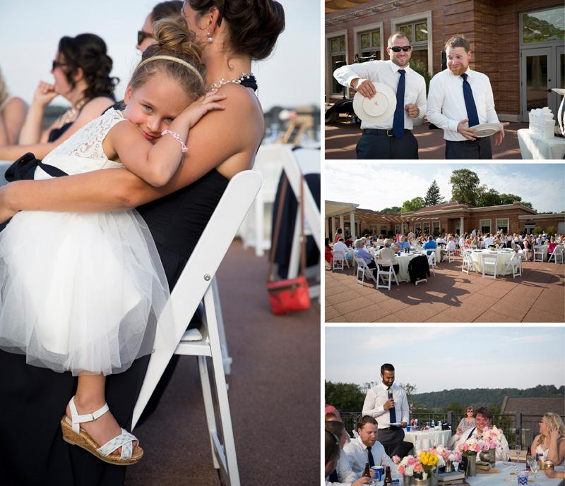 18-minnesota-rooftop-wedding-reception-dinner-toasts-bestman-melanie-mahonen-photography