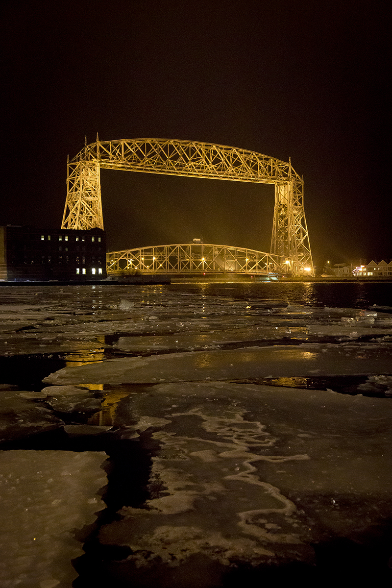 duluth-area-lift-bridge-night-ice-harbor-winter-melanie-mahonen-photography