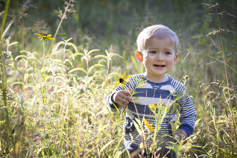 01-jay-cooke-state-park-duluth-minnesota-north-shore-prairie-grass-wild-flower-family-session-one-year-old-happy-boy-melanie-mahonen-photography
