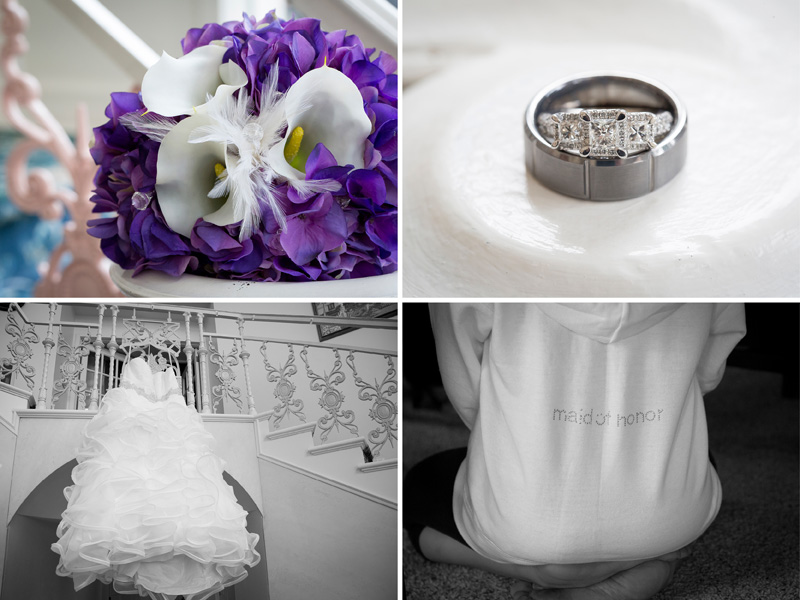 02-red-bridge-inn-park-rapids-northern-minnesota-wedding-day-details-rings-bridal-bouquet-dress-maid-of-honor-rhinestone-sweatshirt-melanie-mahonen-photography