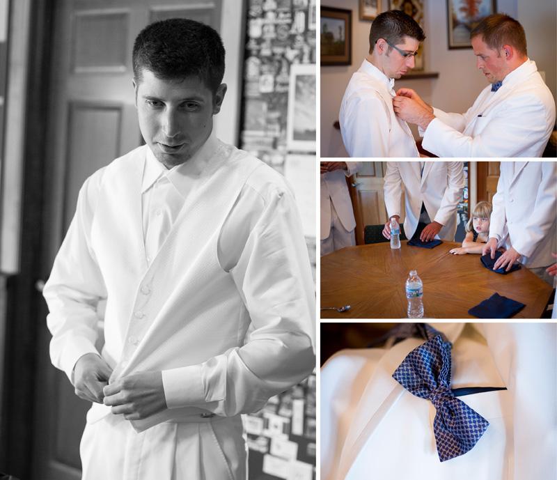 03-minnesota-summer-guys-getting-ready-groom-navy-bow-tie-melanie-mahonen-photography
