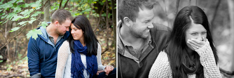 05-fall-engagment-session-in-the-woods-laughter-fun-candid-portraits-melanie-mahonen-photography