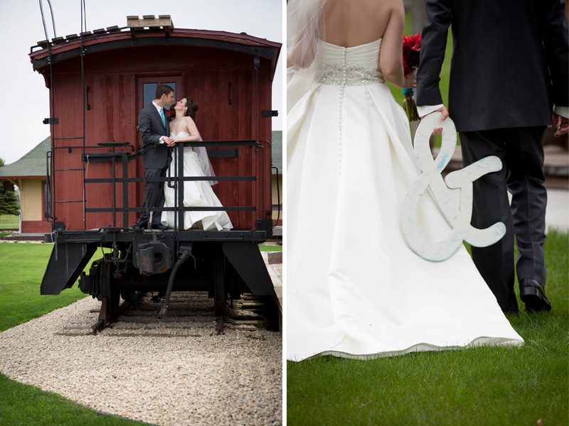 10-little-loghouse-pioneer-village-hastings-minnesota-bride-groom-casual-portraits-train-ampersand-melanie-mahonen-photography