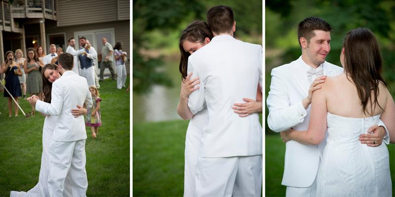 14-casual-backyard-summer-wedding-reception-minnesota-bride-groom-first-dance-melanie-mahonen-photography