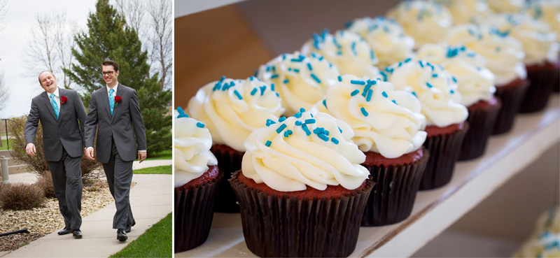 16-wedding-reception-detail-red-velvet-cupcakes-white-frosting-blue-sprinkles-melanie-mahonen-photography