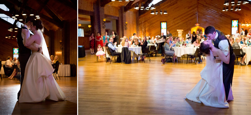 19-little-log-house-pioneer-village-wedding-reception-first-dance-melanie-mahonen-photography