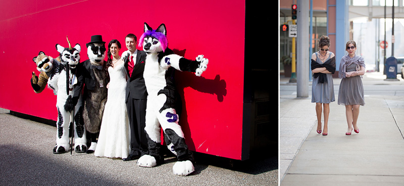 09-donwtown-minneapolis-minnesota-early-spring-wedding-day-bride-groom-party-animals-melanie-mahonen-photography