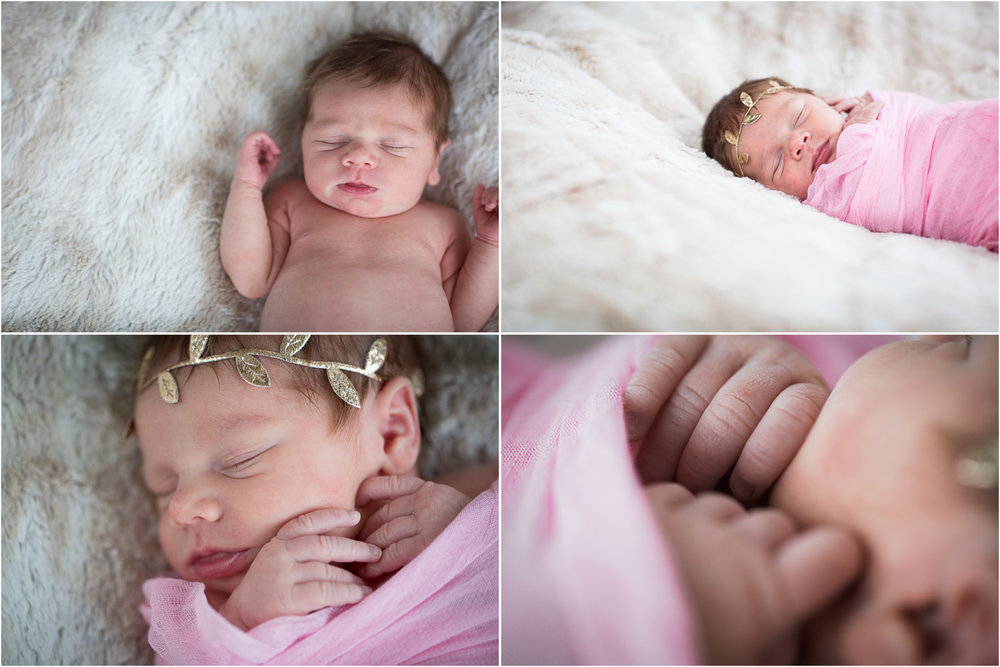 In-Home Newborn Photography Square Golden Valley Minnesota