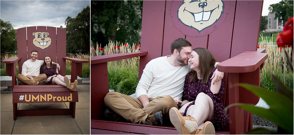 01-university-of-minnesota-engagment-session-fall-minneapolis-goldie-the-gopher-giant-adirondak-chair-u-of-m-proud-math-majors-mahonen-photography.jpg