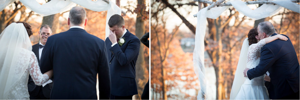 06-three-rivers-park-district-silverwood-outdoor-winter-wedding-ceremony-groom-emotion-mahonen-photography.jpg