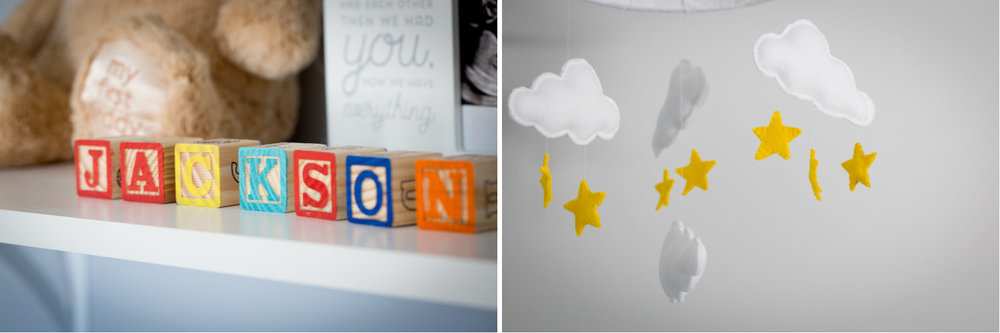 03-in-home-maternity-session-baby-boy-nursery-details-diy-cloud-and-stars-mobile-handmade-alphabetical-blocks-mahonen-photography.jpg
