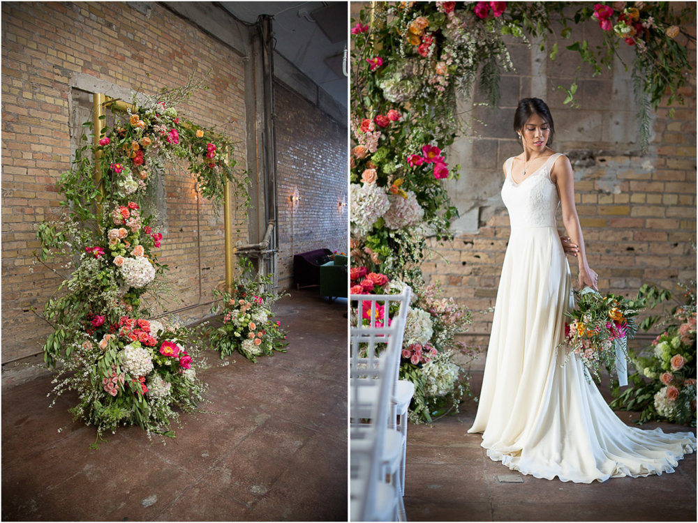 19-gold-floral-wedding-arch-brick-wall-loring-social-minneapolis-minnesota-mahonen-photography.jpg