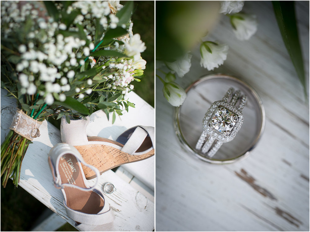 TOMS! Best choice in wedding shoes EVER!