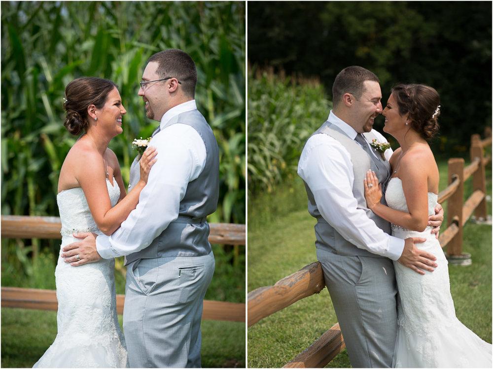08-ridgetop-prescott-wisconsin-wedding-photographer-bride-groom-first-look-corn-field-rustic-fence-mahonen-photography.jpg