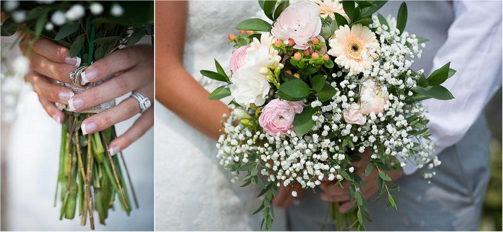 15-ridgetop-prescott-wisconsin-wedding-photographer-bridal-bouquet-details-heirloom-ring-babys-breath-peach-gerber-daisies-pink-roses-mahonen-photography.jpg