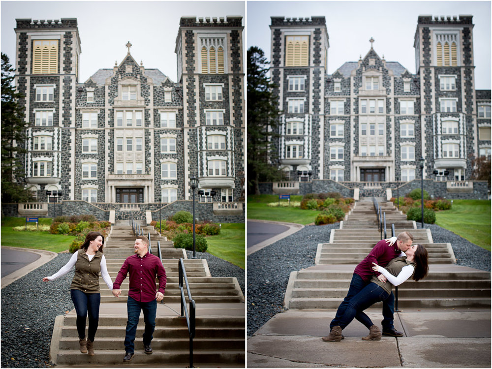 07-st-scholastica-duluth-engagement-photographer-minnesota-fall-photo-session-fun-couple-skipping-playful-mahonen-photography.jpg