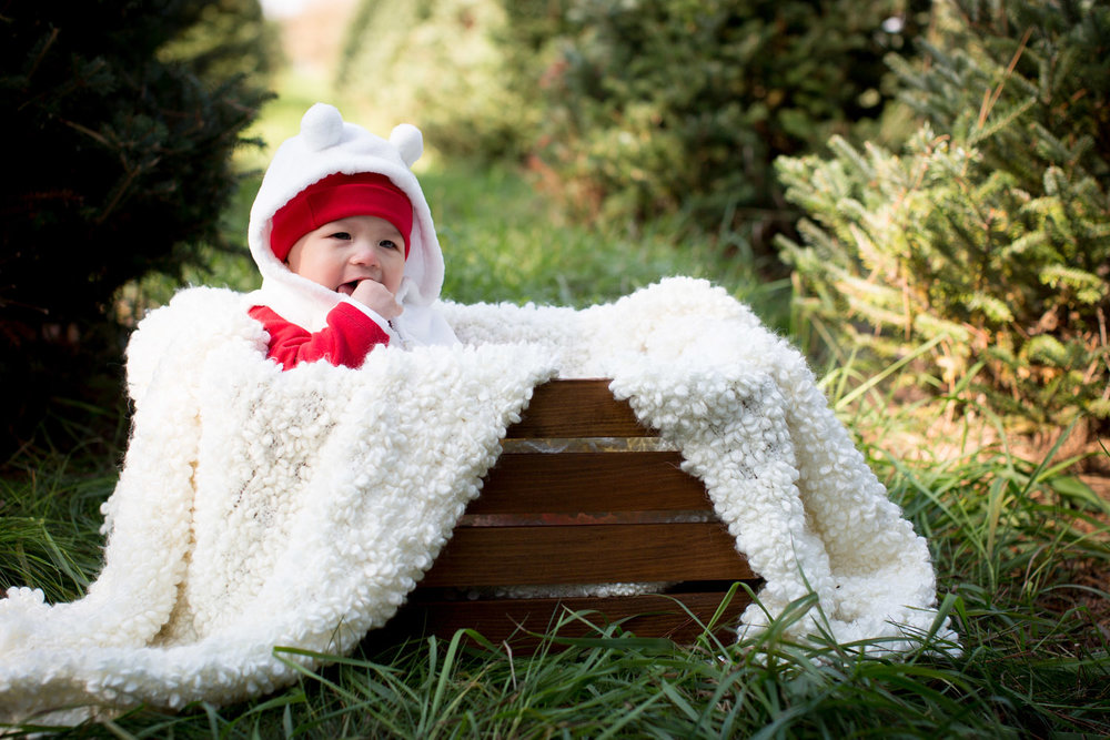 03-hansen-tree-farm-christmas-mini-sessions-minnesota-family-photographer-red-baby-outfit-warm-festive-mahonen-photography.jpg