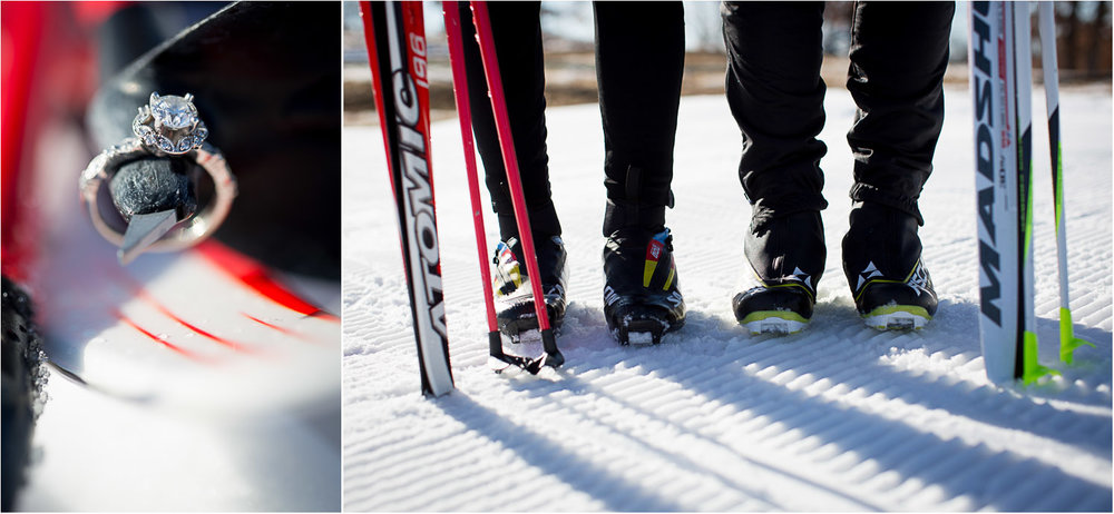 09-minnesota-winter-wonderland-mn-engagement-photographer-theodore-wirth-park-nordic-ski-photos-ring-detail-pole-tip-mahonen-photography.jpg