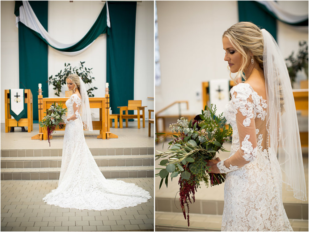 01-st-mary-of-thelake-white-bear-minnesota-catholic-winter-wedding-bridal-portrait-slim-lace-gown-large-flower-bouquet-mahonen-photography.jpg