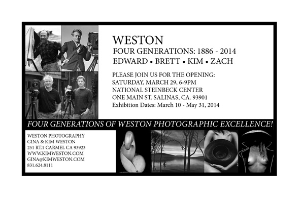 4 Generations of the Weston Photography Exhibition