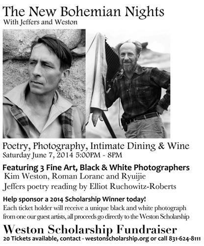 Weston Scholarship Fundraiser - New Bohemian Nights Dinner
