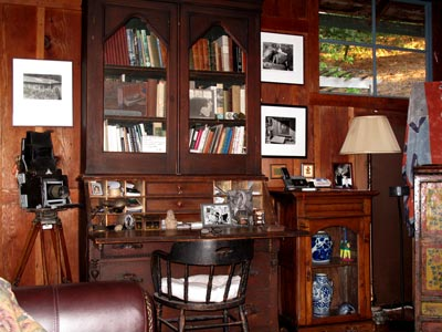 Edward Weston's Desk