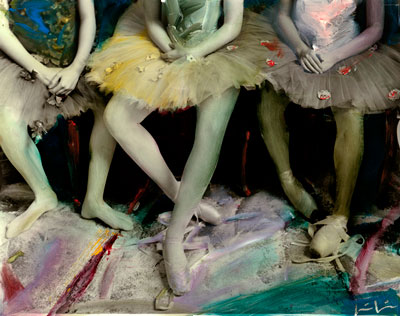 Kim Weston, Painted Ballerinas
