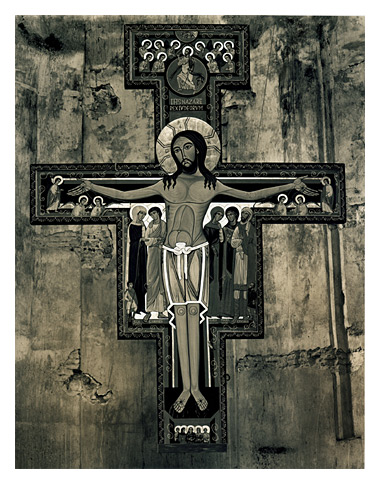 Roman Loranc - Franciscan Cross