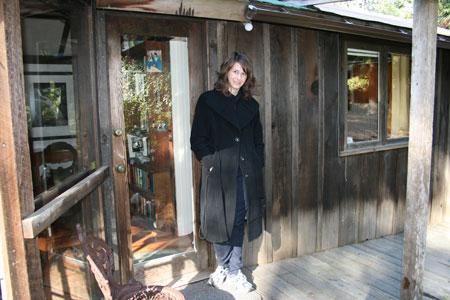 Jennifer Crane at Bodie House, Wildcat Hill