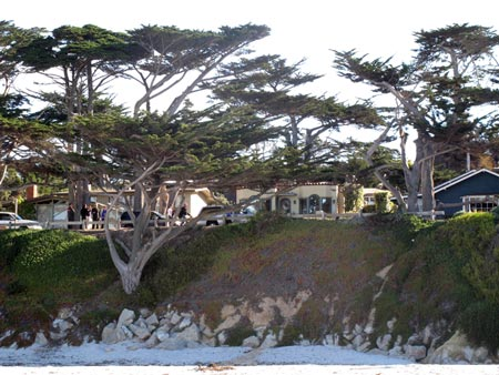 Carmel Beach - Cypress Trees