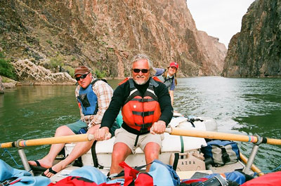 Roman Loranc on the Colorado River 2010