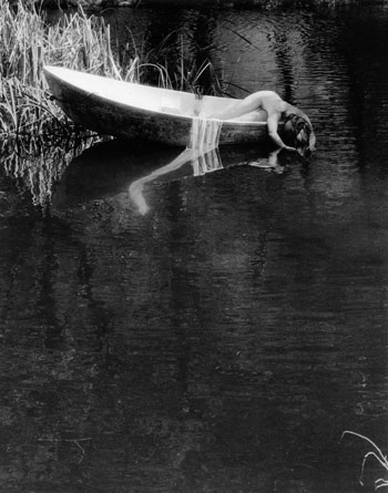 "Kim Weston - ""Summer Daydream - Nude in Boat"""