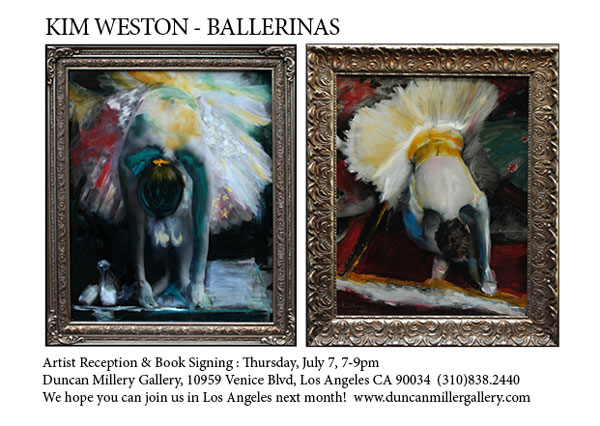 "Kim Weston ""Ballerina Show"" at Duncan Miller Gallery"