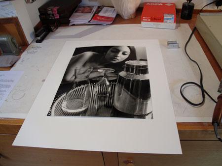 Kim Weston - Mounting Paris Photographs