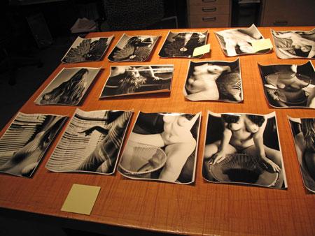 Kim Weston - Proofing photographs from Paris 2011