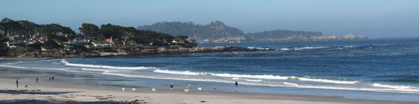 Carmel Beach, Central Coast of California