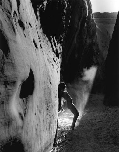 Kim Weston - Lake Powell #10 - Nude in Canyon