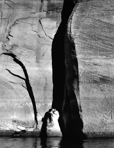 Kim Weston - Lake Powell #12 - Nude & Rock