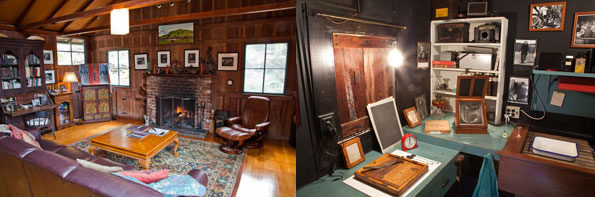 Kim Weston's house and Darkroom, formerly Edward Weston's home.