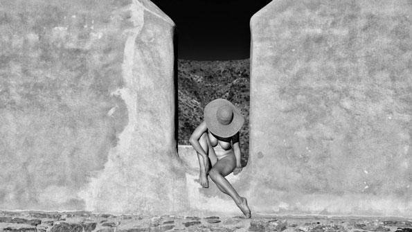 Kim Weston - Desert Resort Figure by Mark Comon