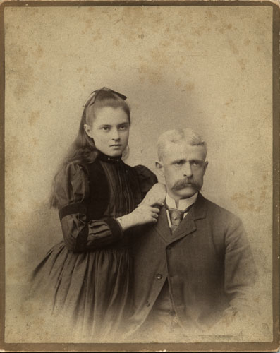 Edward B. Weston with Mary his daughter