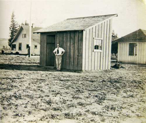 Edward Weston's first studio