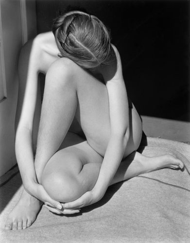 Head Down Nude (227N) | Edward Weston 1936