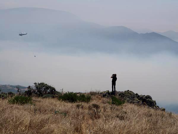 Zach Weston, Soberanes Fire Mal Paso Canyon
