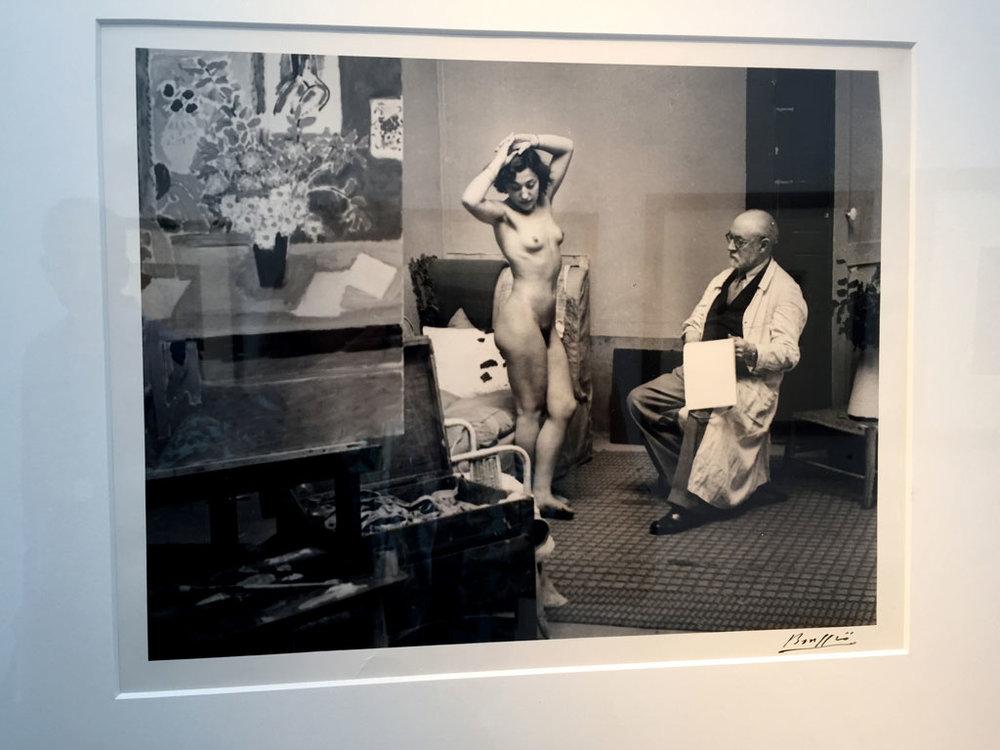 Brassai - Henri Matisse Sketching Model 1939