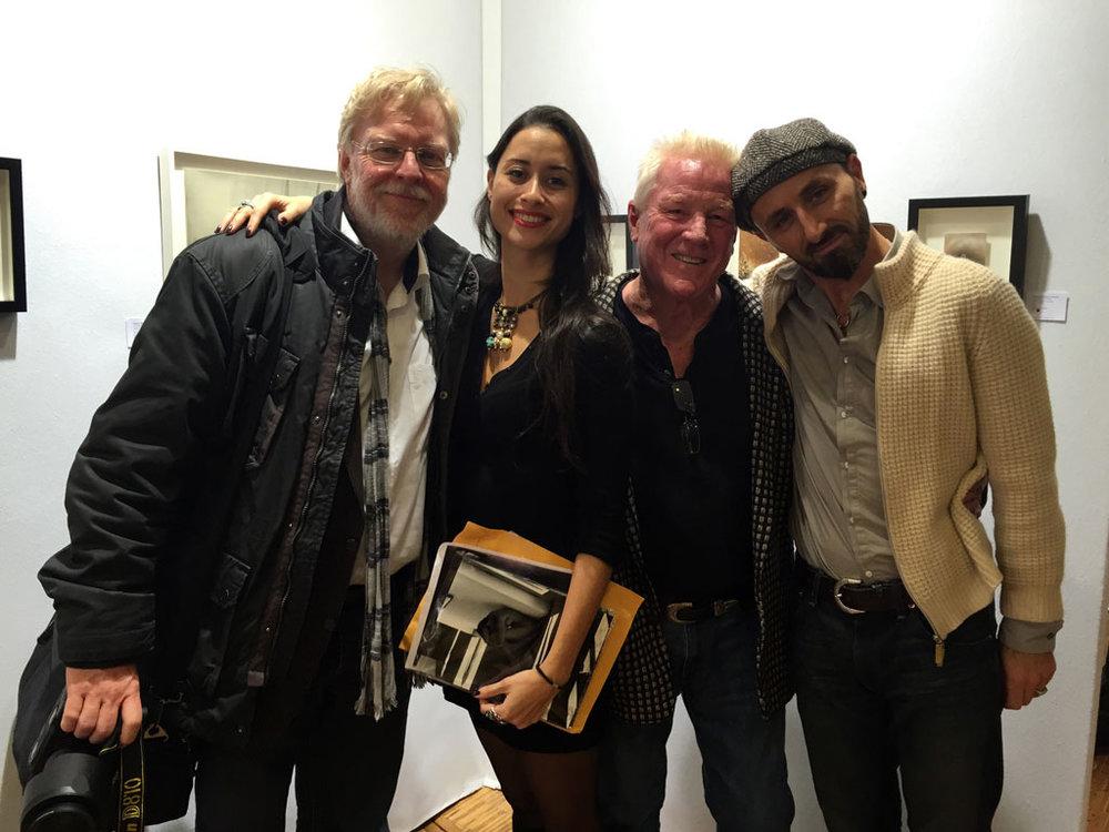 Kim Weston, Fritz Saller, Charline Muse, Martial Lenoir at Foto Fever