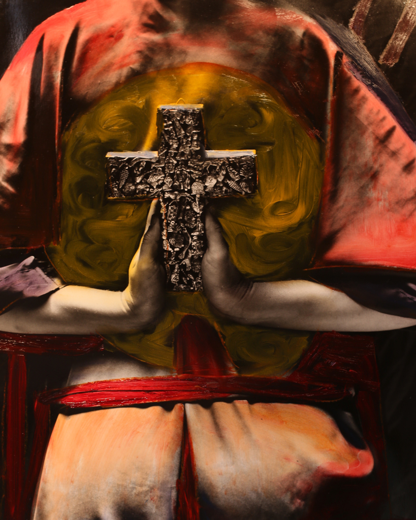 Crucifix (Painted)