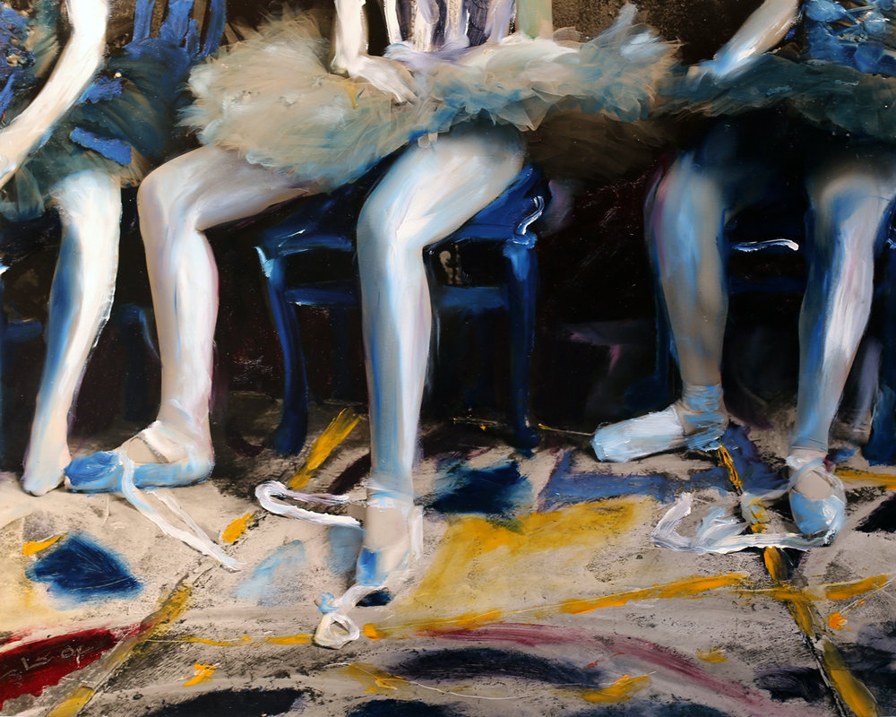 Painted Ballerinas